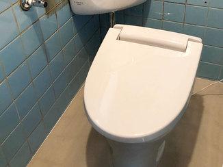 トイレリフォーム 高齢の身体にやさしい快適な洋式トイレ