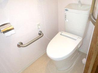トイレリフォーム お手入れや手洗いがしやすい、使いやすいトイレ
